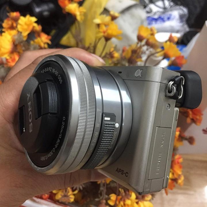 Máy ảnh Sony A6000 kèm kít mầu bạc