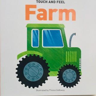 Touch & Feel Board Book Farm - sách sờ và cảm nhận chủ đề Trang Trại cho trẻ nhỏ từ 0-5 tuổi thumbnail