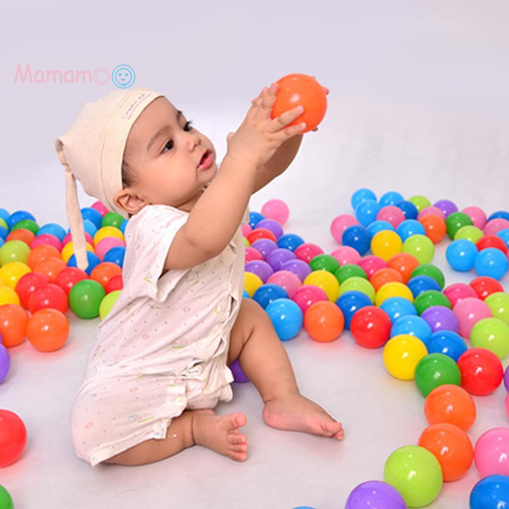 5.5cm Colorful Soft Plastic Ocean Water Pool Ball Funny Baby Kid Swim Pit Toy
