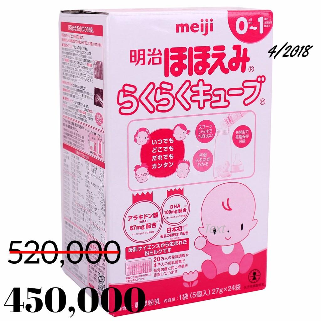 Sữa Meiji thanh số 0 24 thanh 648g date 4/2018 sale còn 450,000 - 2688651 , 573616746 , 322_573616746 , 450000 , Sua-Meiji-thanh-so-0-24-thanh-648g-date-4-2018-sale-con-450000-322_573616746 , shopee.vn , Sữa Meiji thanh số 0 24 thanh 648g date 4/2018 sale còn 450,000