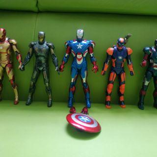 Set 5 em Iron Man