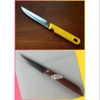 Combo 2 dao gọt trái cây kiwi cán nhựa và gỗ