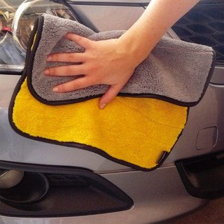 Super Thick Plush Microfiber Car Cleaning Cloth Car Washing Towel Color Random