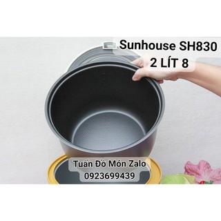 Ruột Nồi, Lòng Nồi cơm điện Sunhouse 2.8 lít SH 830 phụ tùng linh kiện chính hãng