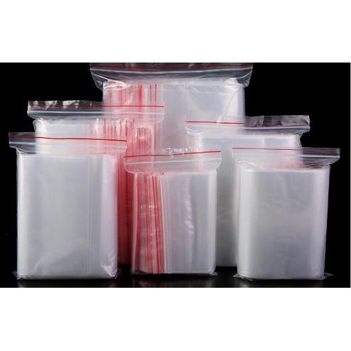Combo 100 túi Zip đựng sản phẩm tiện dụng, KT: 10*15cm