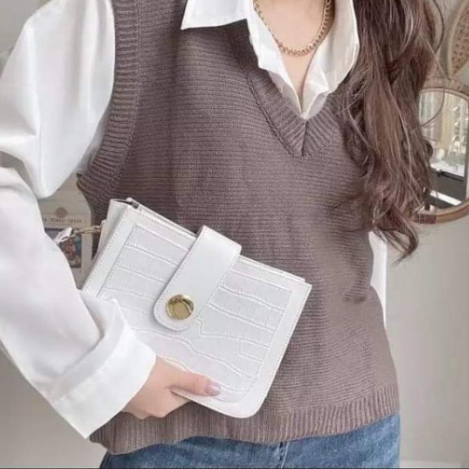 ♛ Gas 6.6!!! ♛ Áo vest dệt kim cứng và mỏng cho nữ