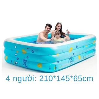 Bể phao bơi 3 tầng 2.1m