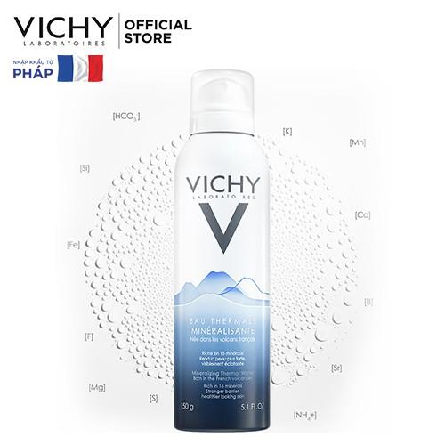 Nước khoáng dưỡng da Vichy Mineralizing Thermal Water 150ml