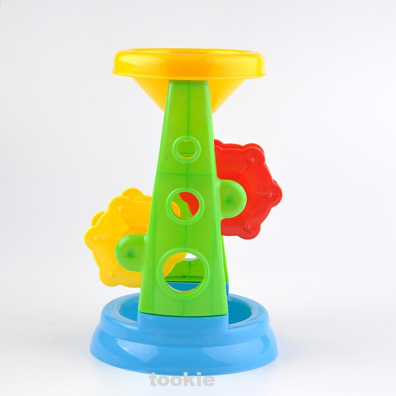 5pcs/set Outdoor Digging Gift Funny Game Modeling Sand Beach Toy Children Sandglass