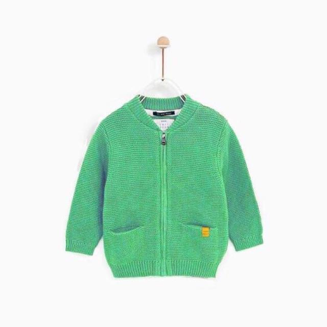 Áo khoác len Zara màu trơn cho bé trai - 2553023 , 1272358029 , 322_1272358029 , 230000 , Ao-khoac-len-Zara-mau-tron-cho-be-trai-322_1272358029 , shopee.vn , Áo khoác len Zara màu trơn cho bé trai