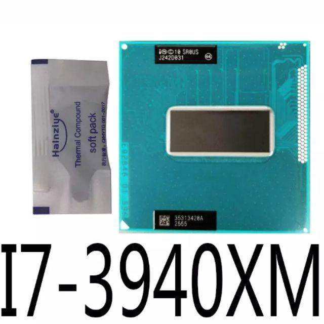 Cpu i7 3rd 3940xm 3-3.9Ghz, cache 8MB, 4 nhân 8 luồng (order). Giá chỉ 6.000.000₫
