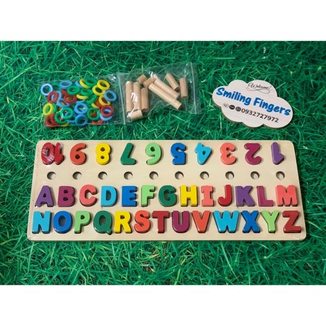 Combo đồ chơi học chữ và số bản đẹp
