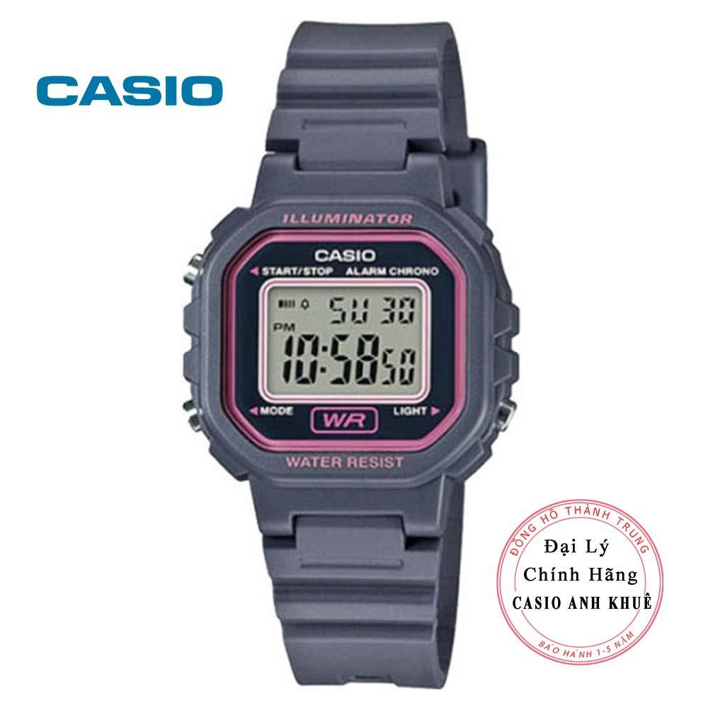 Đồng hồ điện tử nữ Casio LA-20WH-8ADF dây nhựa