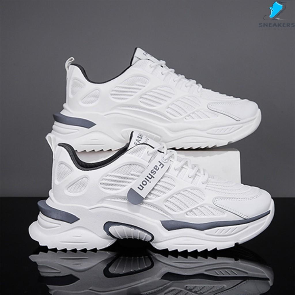 Giày Thể Thao Nam Chính Hãng - Giày Sneaker MS21 🎁+Tặng Kèm Tất Khử Mùi Cao Cấp