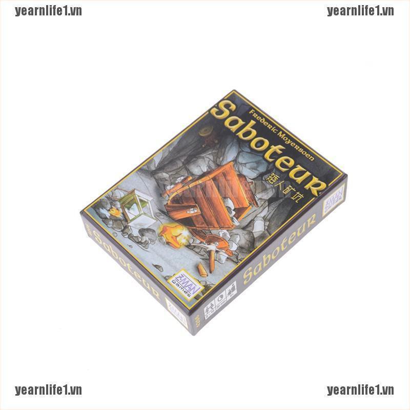 YL Bộ Trò Chơi Board Game Saboteur Vui Nhộn VN2