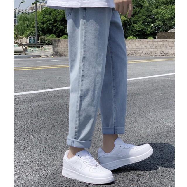 Quần jean nam, jeans nam, quần baggy nam , quần bò nam, Dáng Suông, ống rộng Hot Trend 2020