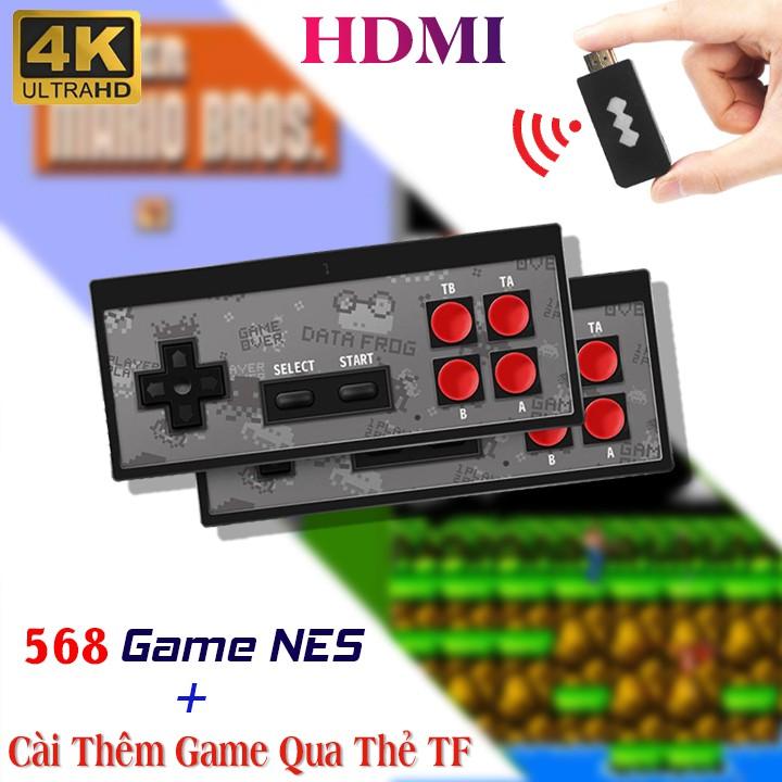 Máy chơi game cầm tay HDMI Y2 4K Tích Hợp 568 Trò Chơi, Có Thể Cài Thêm Game Qua Thẻ Nhớ , Bảo Hành 1 Năm Toàn Quốc