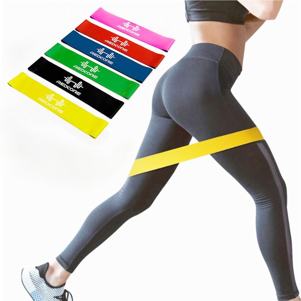 [Combo 6] Dây kháng lực tập mông ⚡FREE SHIP⚡ Dây Đàn hồi kháng lực Miniband, Dây cao su kháng lực