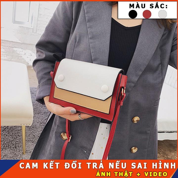 túi đeo chéo nữ mini thời trang giá rẻ ,chất liệu da mềm đựng vừa điện thoại phù hợp với đi chơi.