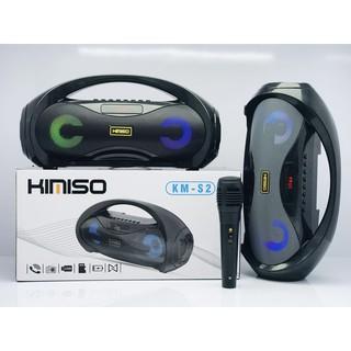 [TẶNG MIC] LOA KIMISO S2, loa bluetooth karaoke mini giá rẻ, loa keo loa kẹo kéo mini bluetooth, loa kẹo kéo mini giá rẻ