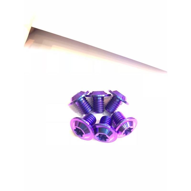 Ốc 8li10 8li15 8li20 dù mỏng Titan Gr5