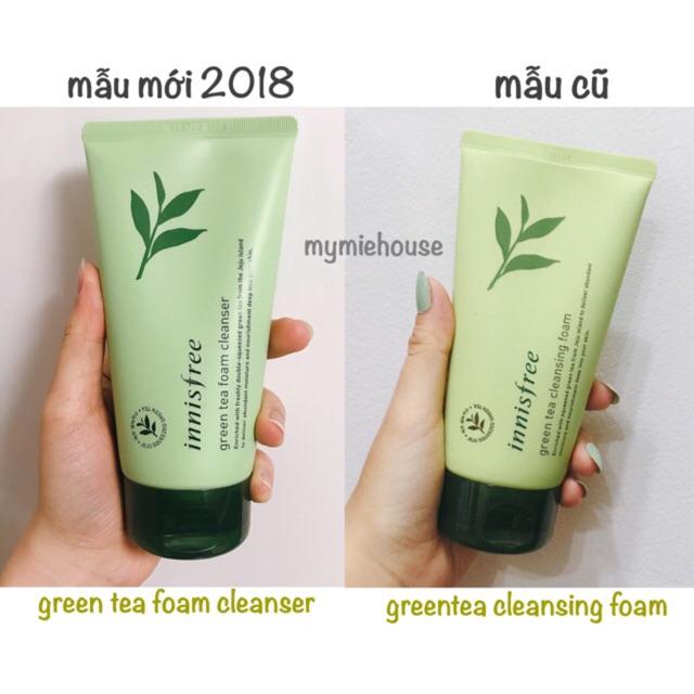 b978f796d88 Sữa Rửa Mặt Chiết Xuất Từ Trà Xanh Innisfree Green Tea Foam Cleanser ...