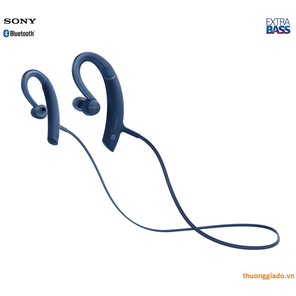 Tai nghe bluetooth Sony In-ear thể thao không dây XB80BS với EXTRA BASS™