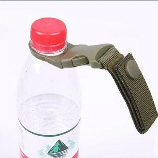 Móc treo chai nước du lịch gắn balo, túi, đai quần baga xe đạp xe máy