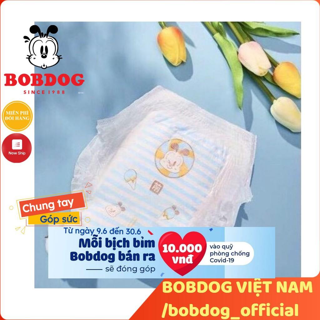 Gói nhỏ bỉm Bobdog Đậu dán/quần đủ size S34/M30/M24/L26-L22/XL20/XXL18