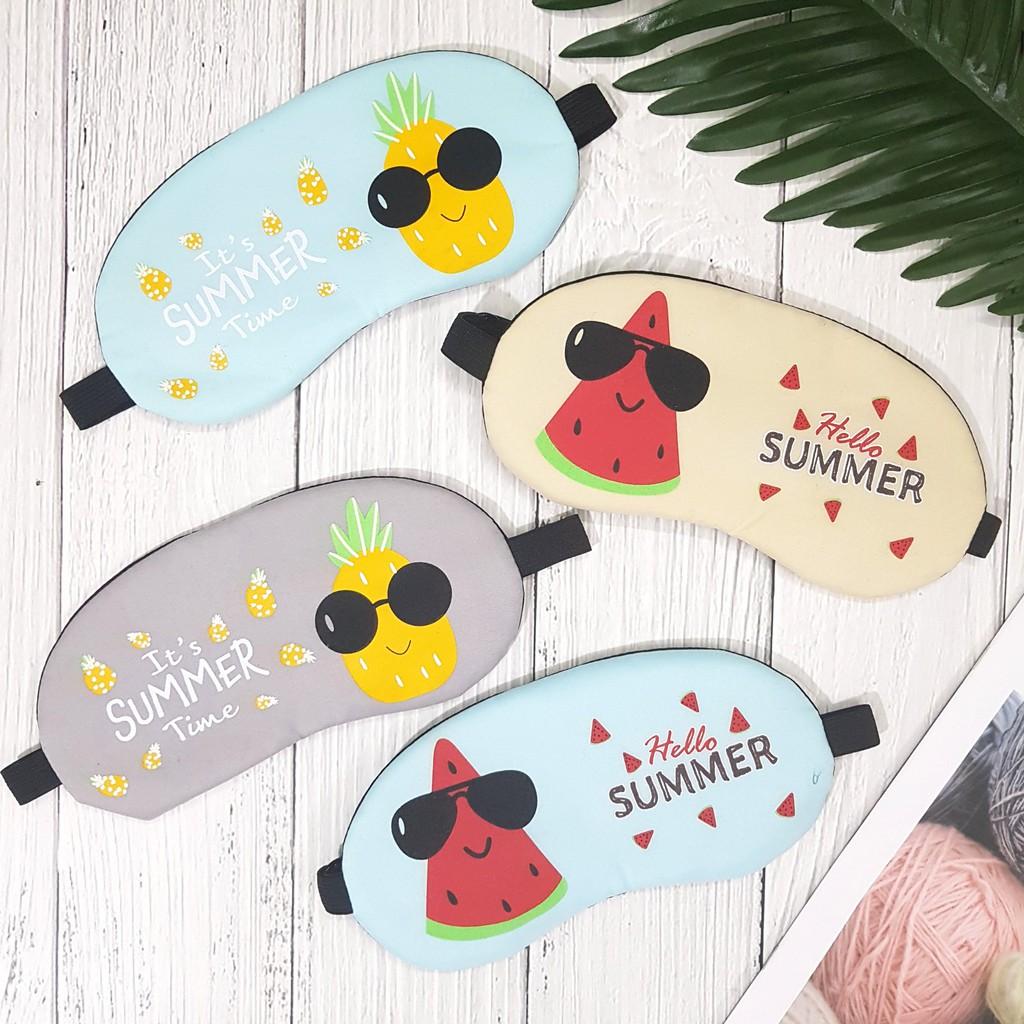 Bịt mắt Fruit Summer có gel