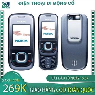 CÓ CLIP Điện thoại cổ Nokia 2680 Nắp Trượt Huyền Thoại Zin Nguyên Bản Tặng Kèm Pin Và Sạc-BH 12 tháng 1 đổi 1 tháng đầu thumbnail
