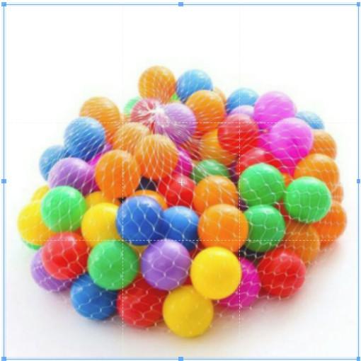 Combo 100 quả bóng nhiều màu