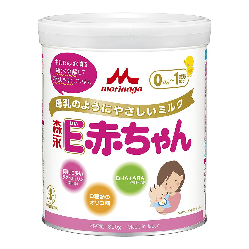 Sữa Morinaga E-Akachan 800g cho trẻ sinh non