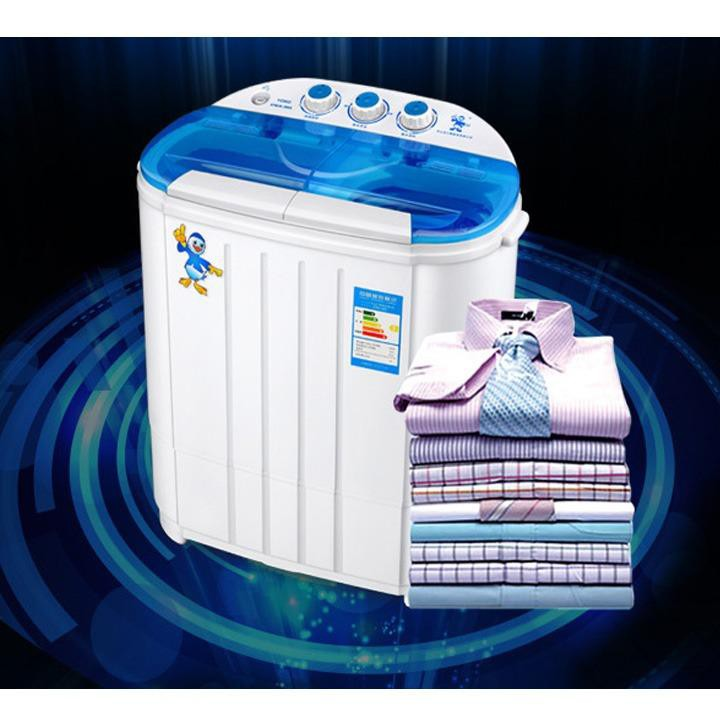 Máy giặt mini 2 lồng Home and Garden 4.5Kg, máy giặt mini bán tự động (Trắng) - 3555003 , 1032830697 , 322_1032830697 , 1800000 , May-giat-mini-2-long-Home-and-Garden-4.5Kg-may-giat-mini-ban-tu-dong-Trang-322_1032830697 , shopee.vn , Máy giặt mini 2 lồng Home and Garden 4.5Kg, máy giặt mini bán tự động (Trắng)