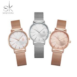 Đồng hồ nữ Shengke Korea K0093L chính hãng thumbnail