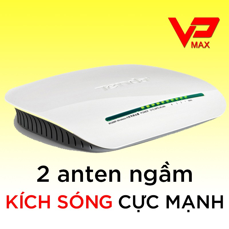 Bộ phát Wifi Tenda W368R 2 Anten chuẩn N300 Giá chỉ 169.000₫