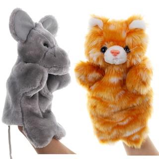 Búp Bê Đồ Chơi Hình Mèo Và Chuột Dễ Thương Cho Bé
