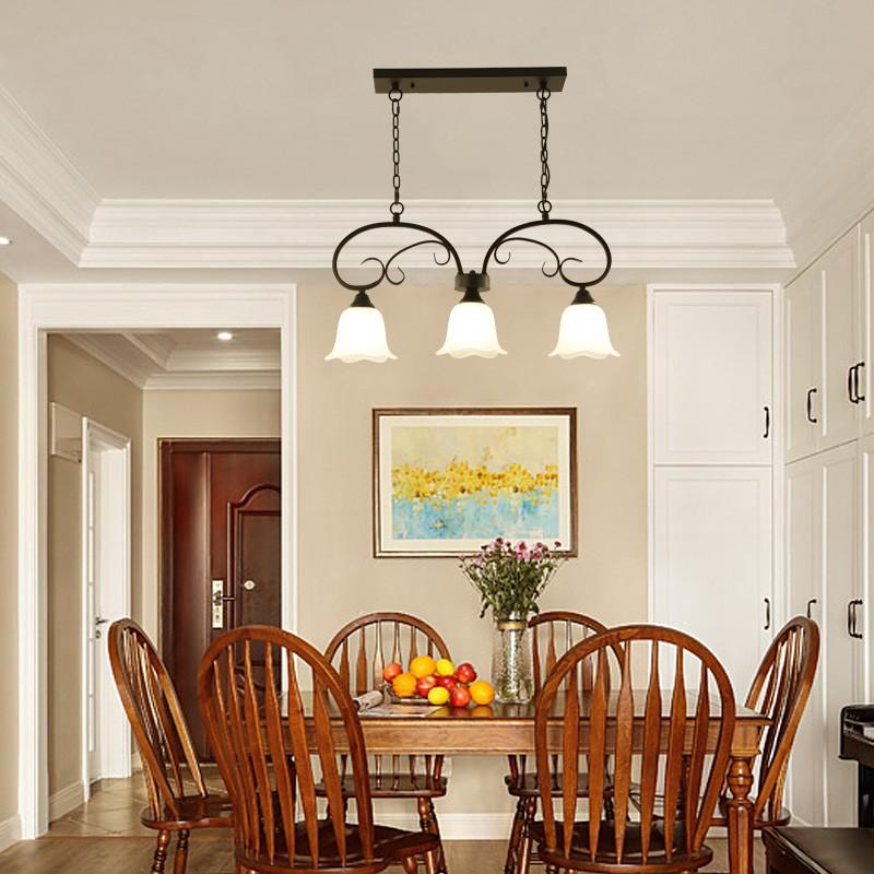 Đèn thả MANGAN trang trí nội thất, phong cách cổ điển thân kim loại sơn tĩnh điện cao cấp - kèm bóng LED chuyên dụng