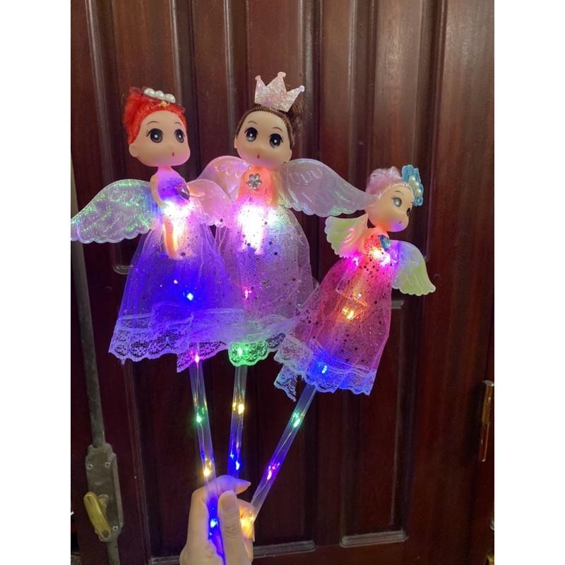 🌷🌷Gậy phát sáng công chúa-gậy phát sáng búp bê