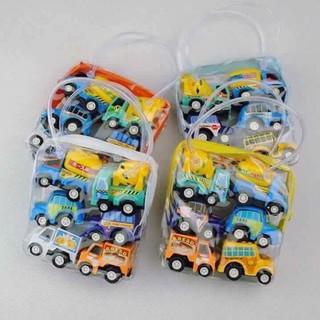 Bộ đồ chơi 6 ô tô chạy đà