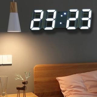 Đồng Hồ Kỹ Thuật Số LED Treo Tường Dùng Để Trang Trí