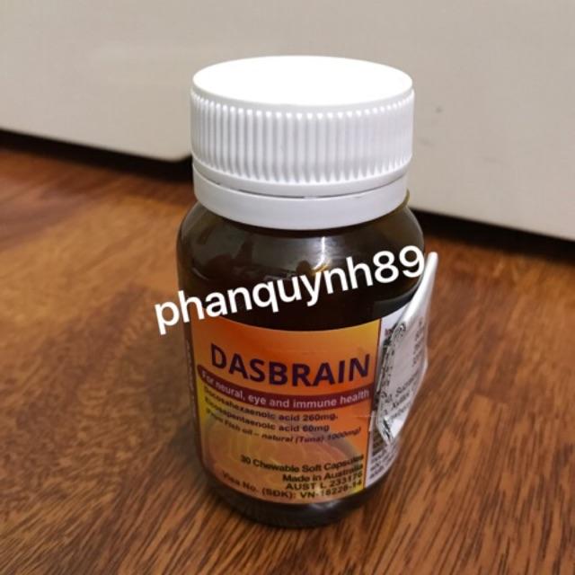 Dasbrain Lọ 30 viên - Tốt cho mắt, thần kinh và hệ miễn dịch - 2606184 , 369026496 , 322_369026496 , 400000 , Dasbrain-Lo-30-vien-Tot-cho-mat-than-kinh-va-he-mien-dich-322_369026496 , shopee.vn , Dasbrain Lọ 30 viên - Tốt cho mắt, thần kinh và hệ miễn dịch