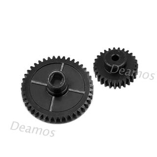 DE❀ 27T 42T Metal Reduction Gear Motor Gear for Wltoys 144001 1/14 RC Car
