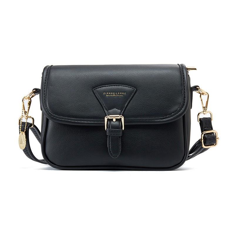Túi đeo chéo nữ da mềm cá tính PIERRE LOUES dễ thương nhiều ngăn TX496