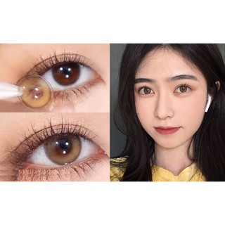 (21.April.9) NYXDPAO Series,CLAMIDO Brand ,14.0mm,(Grade 0-8.00), Contact Lens yearly use(brown)
