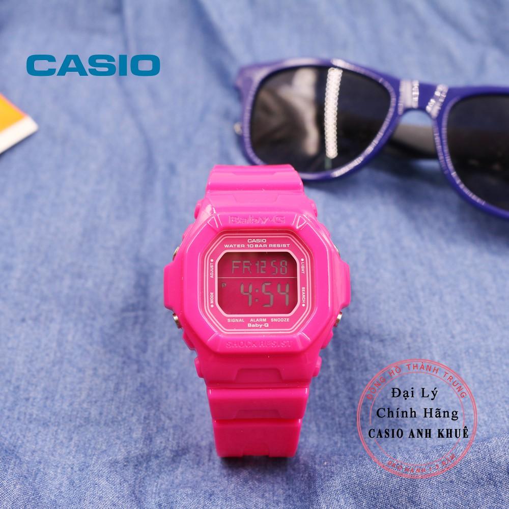Đồng hồ Casio nữ Baby-G BG-5601-4HDR dây nhựa