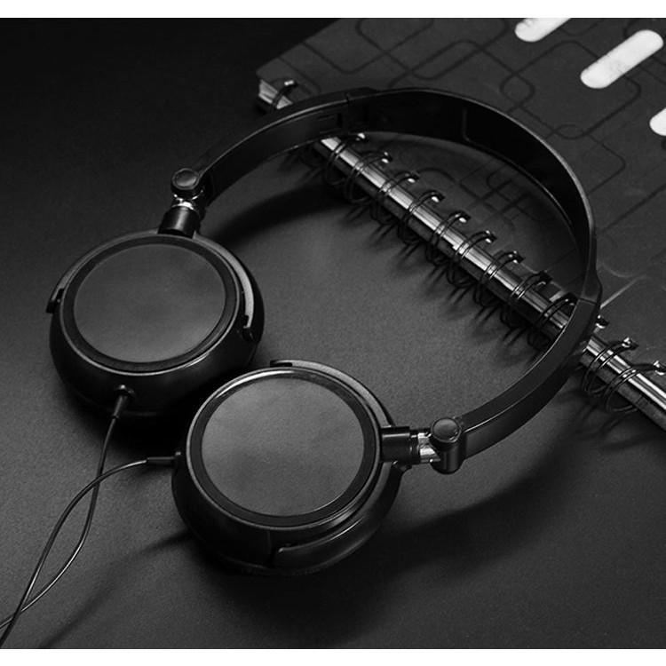 Sản phẩm tai nghe chụp tai có dây nghe nhạc Matee N1