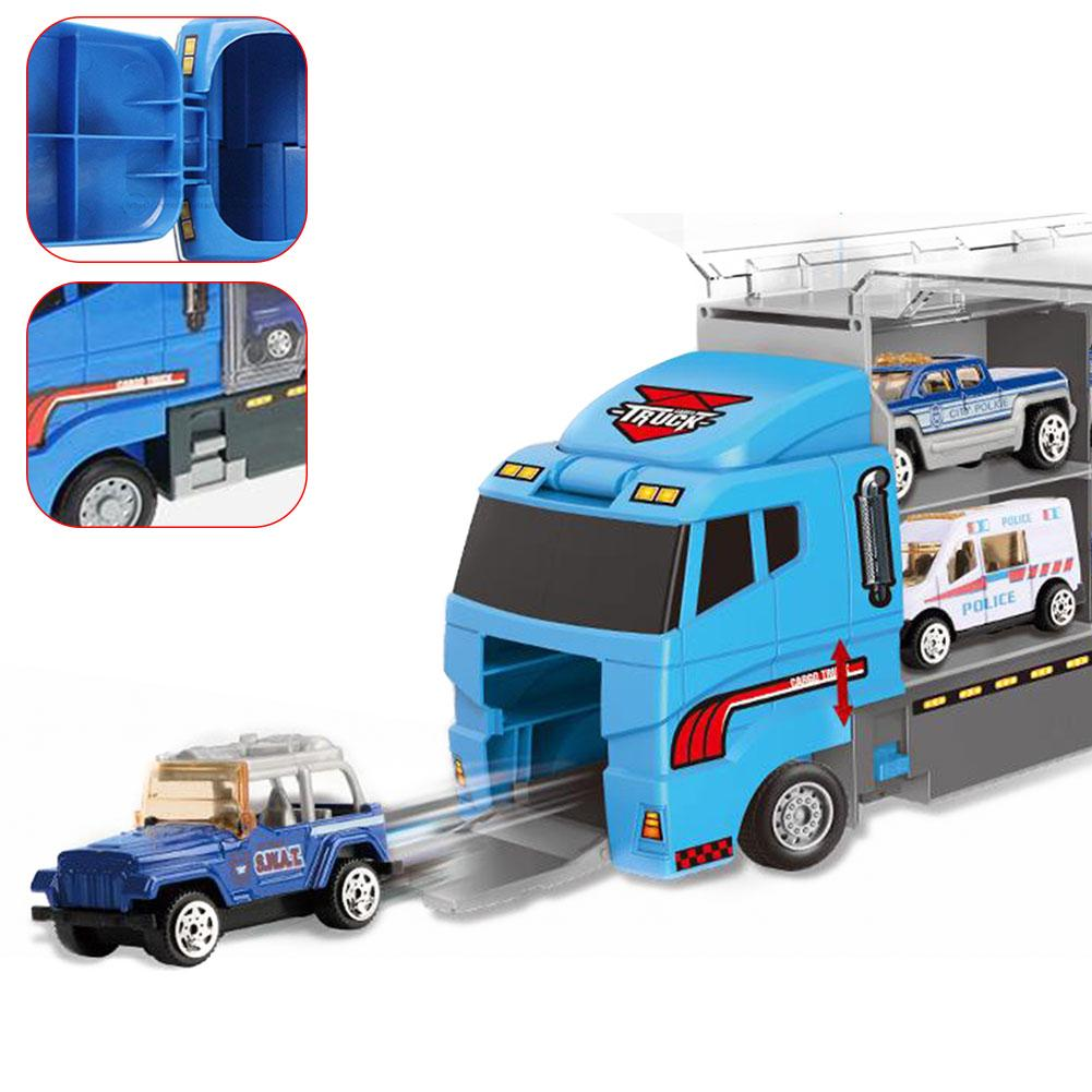 Safe Kids Simulation Gift Sliding Funny Bright Colors Alloy Mini Toy Car Set