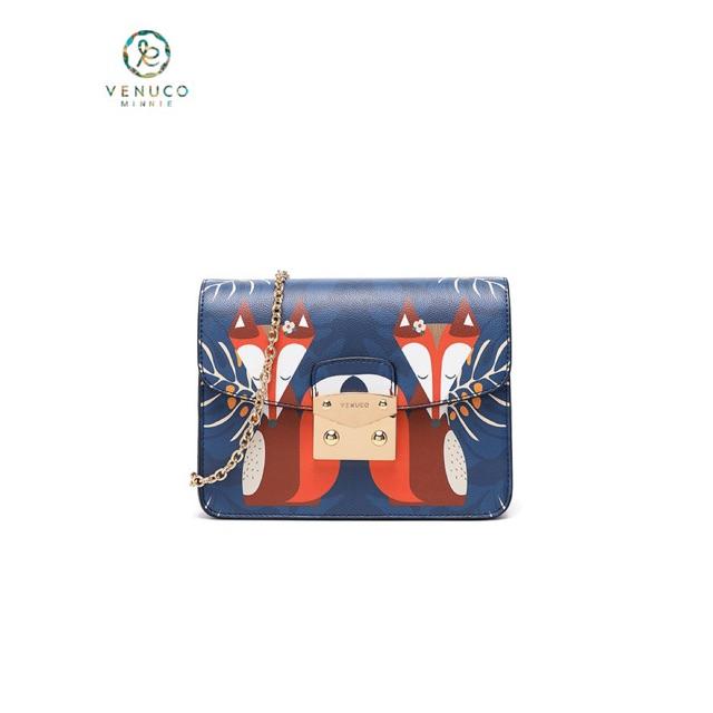 Túi xách nữ đeo chéo dạng hộp flora chính hãng Tây Ban Nha Venuco Madrid S402 nhiều màu