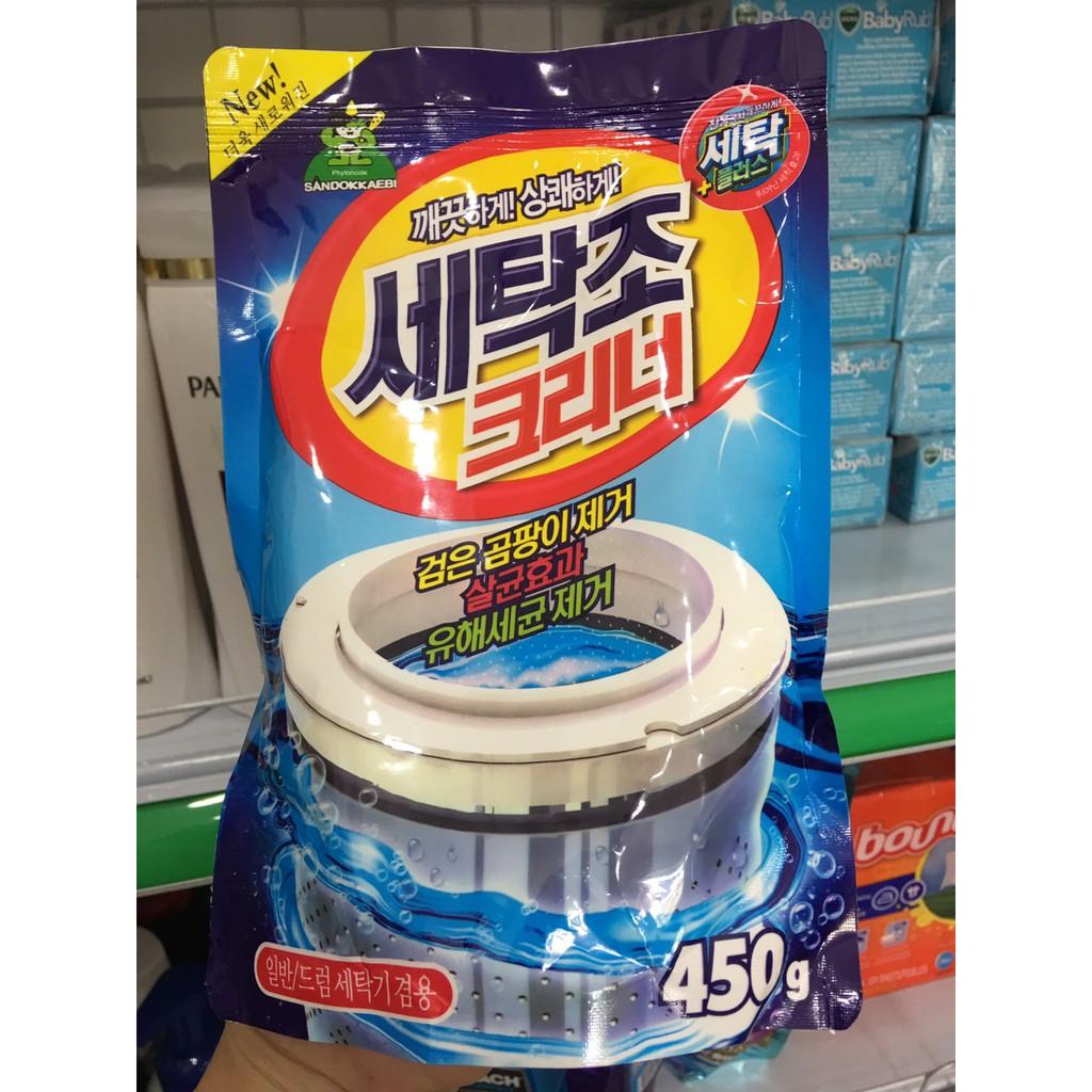 Bột tẩy vệ sinh lồng máy giặt Sandokkaebi - Hàn Quốc - 22627179 , 1948578642 , 322_1948578642 , 45000 , Bot-tay-ve-sinh-long-may-giat-Sandokkaebi-Han-Quoc-322_1948578642 , shopee.vn , Bột tẩy vệ sinh lồng máy giặt Sandokkaebi - Hàn Quốc